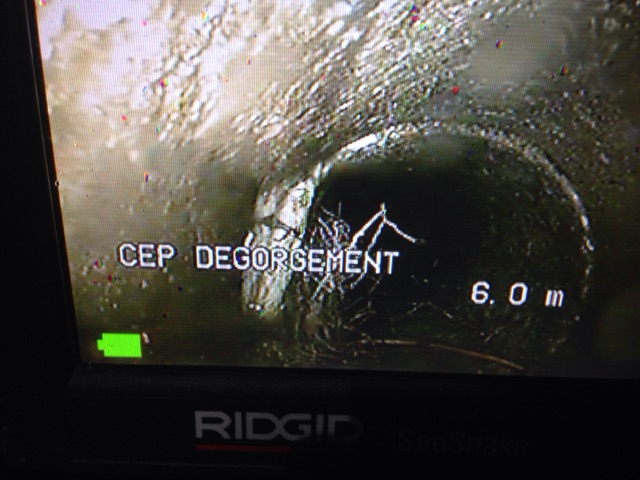 Inspection vidéo des canalisations