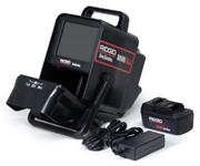 Ridgid Minipak utilisé pour l'inspection vidéo des canalisations
